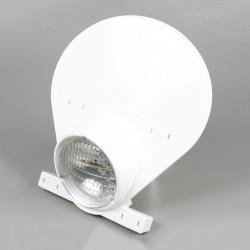 White Preston Petty headlight