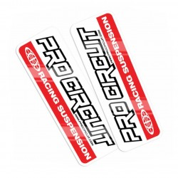 Stickers de fourche Pro...